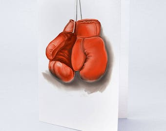 Boxing Gloves by Truly Yours Greetings