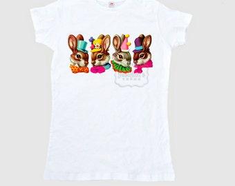 Easter Bunny Shirt Women's T Shirt Adult Size S M L Xl 2Xl