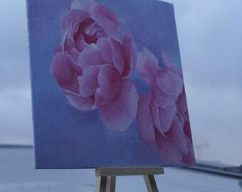 Pink Peonies Painting