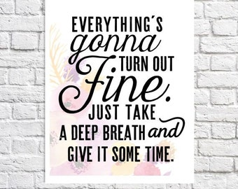 Inspirational Wall Art Quote Print Words Of Encouragement Gift For Women Inspirational Sayings About Life Inspiring Quote Stay Positive