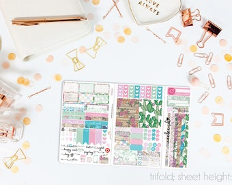 A Little Bit Country TN POCKET Weekly Kit // 100+ Matte Planner Stickers // Perfect for your Pocket/Personal Traveler's Notebook // TNP0620