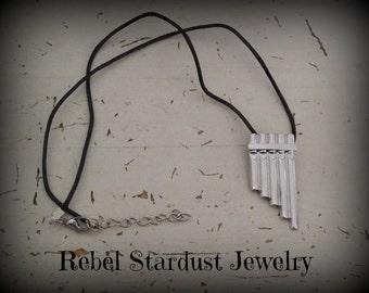 Panflute Flute necklace