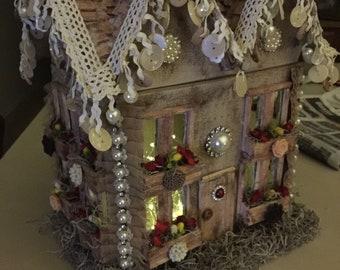 Decorative Lighted House