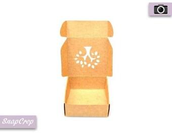 Tree Window Cardboard Gift Box
