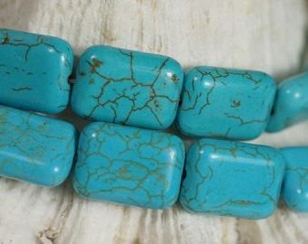 Magnesite Beads 18X13x6 mm Gemstone Beads Bead Strands Bead Supplies