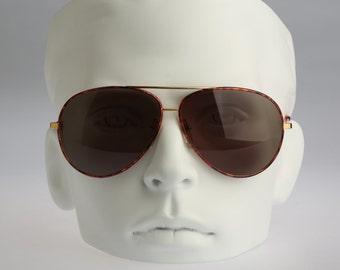 Serengeti Drivers 5401R, Vintage aviator sunglasses, 80s mens & women rare and unique / NOS