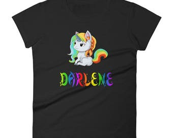 Darlene Unicorn Ladies T-Shirt