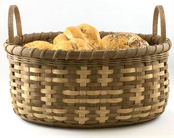 "BASKET WEAVING PATTERN ""Zella"" Checkerboard Biscuit Basket"