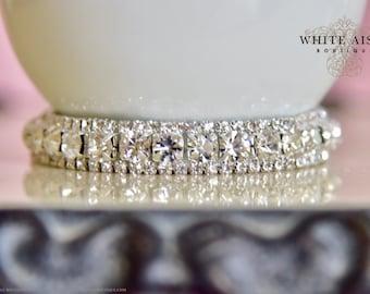 Bridal Bracelet Crystal Vintage Style Wedding Statement Bracelet Bridesmaid Bridal Party Gifts Wedding Jewelry Accessories