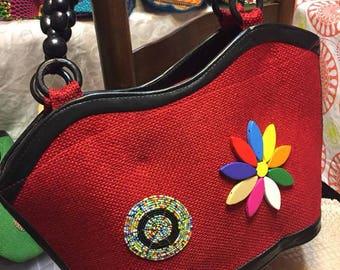 Kenyan Kitenge Handbag