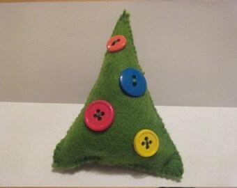 Small Felt Stuffed Christmas tree