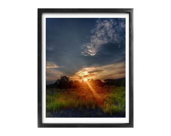 The Golden Hour - 8x10 Framed Photography Print