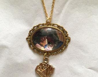 Rumbelle Once Upon A Time Pendant Necklace