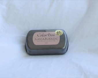 Colorbox, Mica Magic, Pigment Ink, Pink, Clearsnap, 40% more, destash