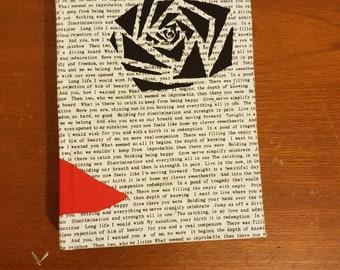 A5 hand bound notebook
