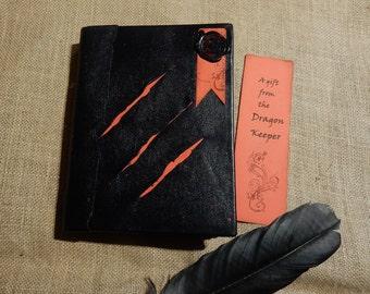 Dragon Keeper Handmade Book, Dragon Book, Handmade Journal, Junk Journal, Handade Sketch Book, Scrapbook, Game of Thrones, Harry Potter,