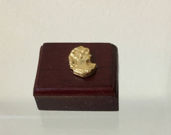 "Dollhouse Miniature 1"" Scale Wood Jewelry Box (BP)"