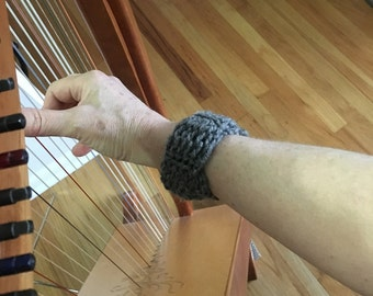 Harpist's Bracelet Guard, Wrist Band for Instrumentalists