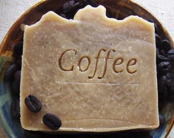 Coffee Butter Shampoo Bar with Jojoba - Vegan Shampoo Bar