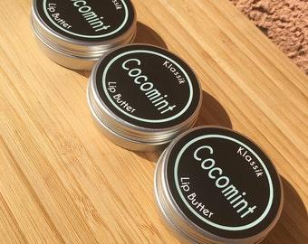 3-pack of Klassik Cocomint Vegan Lip Butter