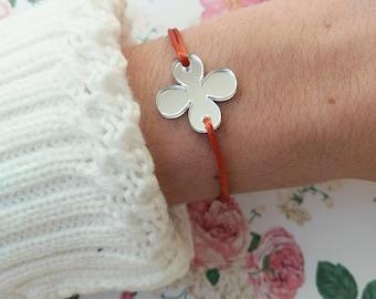 Flower bracelet, Plexiglass bracelet, Acrylic bracelet, Laser cut, Make a wish, Bachelorette, Friendship bracelet,Acrylic Jewellery