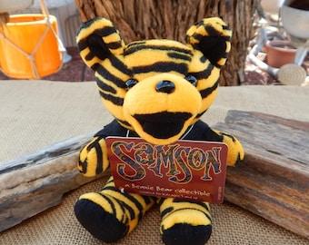 Samson Grateful Dead Beanie Bear  ~  Grateful Dead Beanie Bear  ~  Grateful Dead Bear  ~  Samson Dancing Bear ~ Dead Head Gift  ~ Jerry Bear