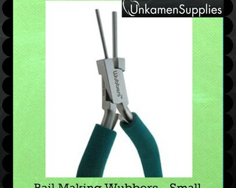 Wubbers Small Bail Making Pliers - 1301 - Wire Sample Included - 100% Guarantee
