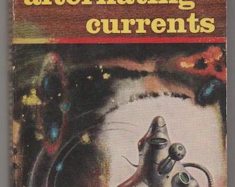 1956, Alternating Currents, Frederik Pohl. Paperback Sci-Fi Book.  VG.  Ballantine Books