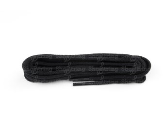 Black Round Shoelace 45 - 220cm