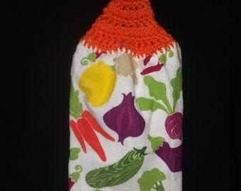 Vegetable Hanging Kitchen Towel