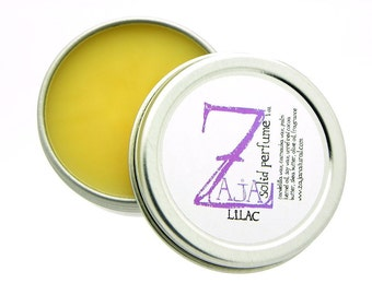 Perfume Solid for Women Floral - Lilac 1 oz by ZAJA Natural