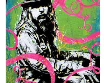 Leon Russell - Everybody Loves a Clown - 12 x 18 High Quality Art Print