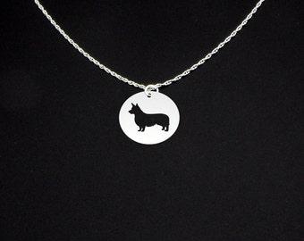 Corgi Necklace Pembroke Welsh - Corgi Gift - Corgi Jewelry