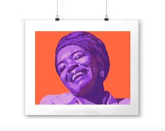 Maya Angelou Print