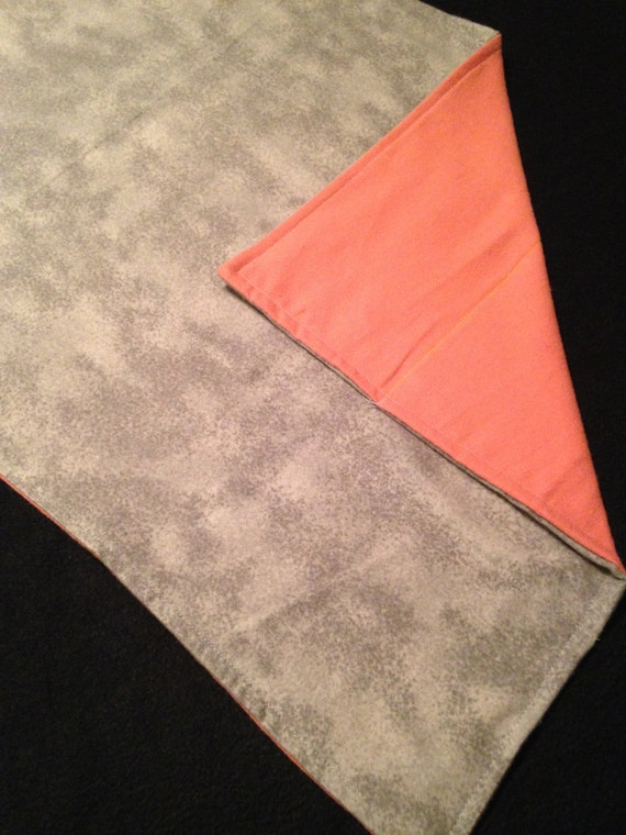 Washable Weighted Gray Lap Pad/Small Blanket/Travel Weighted Blanket 3 pounds.  14.5x22 Ready to Ship