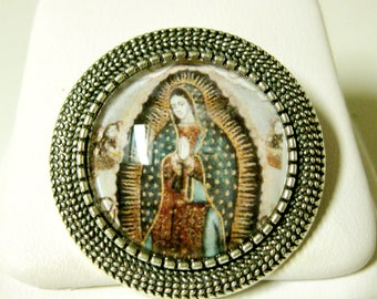 Our Lady of Guadalupe brooch/pin - BR09-019
