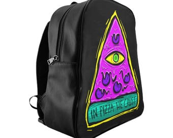 BACKPACK 'In Pizza We Crust'