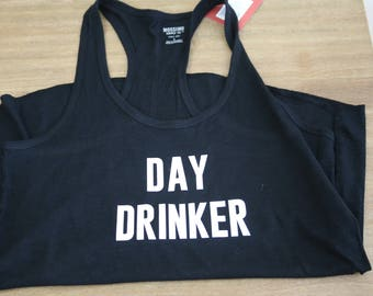Day Drinker Womens Tank Top Size Small