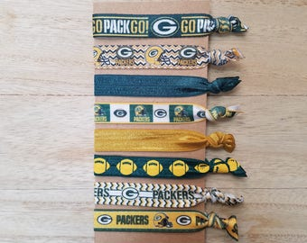 Green Bay Packers Hair Ties