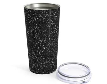 Black Glitter Tumbler 20Oz
