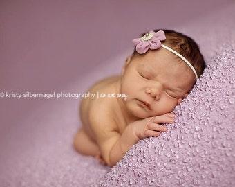 Adorable Purple Headband, Baby Headband, Children Headband, Purple Infant Headband, Newborn Headband, Infant Headband, Open For Pictures :)