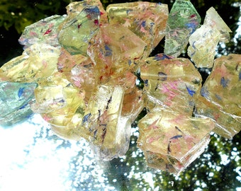 Jewels of Sea Glass, Rock Candy, Chunks, Sparkle, Wedding Cake, Cake Decorations 1/2 pound