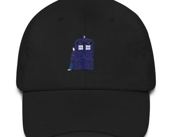 Tenth Doctor and TARDIS hat