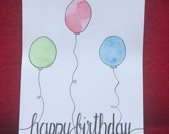 Birthday Greeting Card Postcard