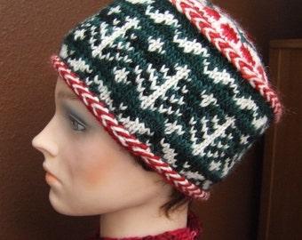 Sigrun, Holiday Hat Pattern 2008
