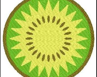 Fill Embroidery Design, Kiwi, File, Digital, Download, Machine