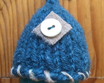 Knit and Felted Egg Cozy