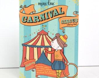 Carnival Circus Coloring Book