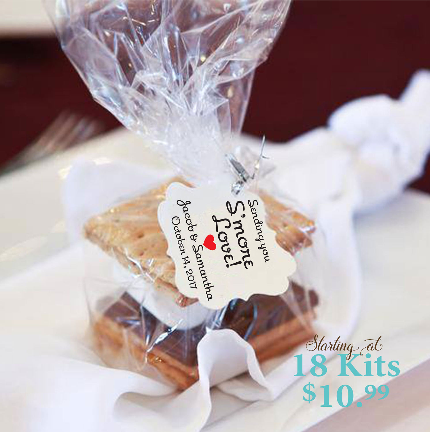 Colorful Smores Wedding Favors Gift - The Wedding Ideas ...