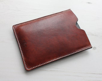 Leather Kindle Case in Brown, Green & Red, Amazon Kindle Cover, Leather Case, Kindle Paperwhite, Kindle Voyage Case, Leather Sleeve